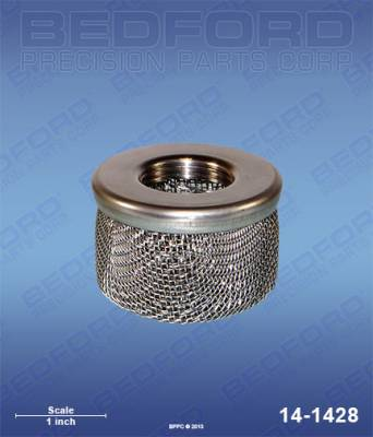 "Bedford - BEDFORD - INLET STRAINER - 3/4"" NPT (STAINLESS STEEL CAP) - 14-1428, REPLACES GRA-183770"