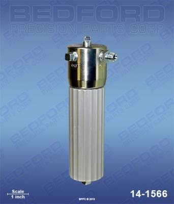Bedford - BEDFORD - 3000 PSI FLUID OUTLET FILTER ASSEMBLY - 14-1566, REPLACES GRA-214570