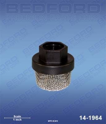 "Bedford - BEDFORD - INLET FILTER, 3/4""UNF(F) 12 MESH - 390ST - 14-1964, REPLACES GRA-235004"