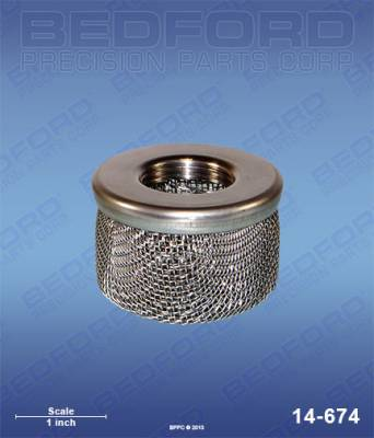 "Bedford - BEDFORD - INLET STRAINER - 3/4"" NPT THREAD - 14-674, REPLACES BIN-41-10094"