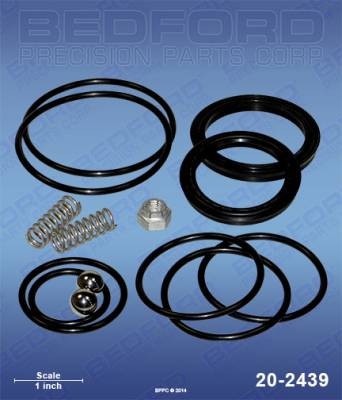 Bedford - BEDFORD - HYDRAULIC MOTOR KIT - PTWIN 3500/4500/5500 - 20-2439, REPLACES TSW-235-050