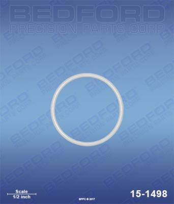 Bedford - BEDFORD - TEFLON O-RING - 15-1498, REPLACES GRA-108526