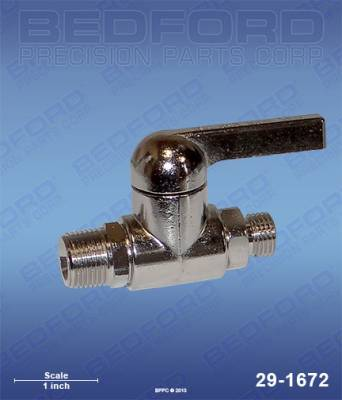 Spray Parts - Valves - Low-Pressure Valves