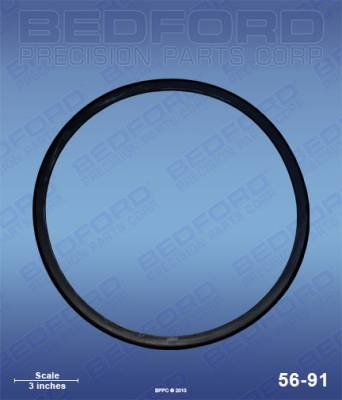 Spray Accessories - Pot & Cup Lid Gaskets - Pressure Pot Tank Lid Gaskets
