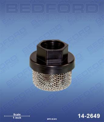 Spray Parts - Filters - Inlet Filters / Strainers