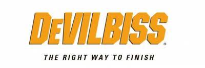 Spray Guns - Devilbiss - Devilbiss - DEVILBISS - COMPACT HVLP GRAVITY GUN - COM-G507B-14DPC