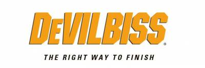 Spray Guns - Devilbiss - Devilbiss - DEVILBISS - COMPACT SPRAY GUN - COM-PS507B-08-00