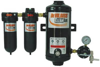 Specials - Air Filtration - Devilbiss - DEVILBISS - DESICCANT AIR DRYING SYST - DAD-500