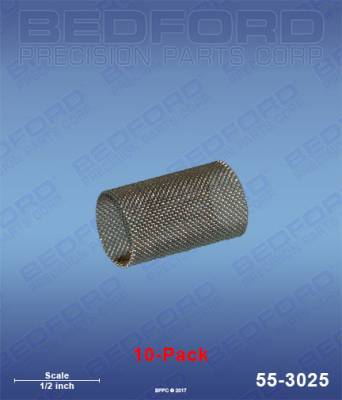 Fusion Guns & Parts - Repair Parts - Bedford - BEDFORD - FILTERS, 60 MESH - FUSION GUNS (10-PACK) - 55-3025, REPLACES GRA-246358