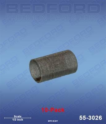 Fusion Guns & Parts - Repair Parts - Bedford - BEDFORD - FILTERS, 80 MESH - FUSION GUNS (10-PACK) - 55-3026
