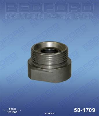 Amspray - Model 6 - Bedford - BEDFORD - FOOT VALVE ASSEMBLY - 396 FLUID SECTION - 58-1709