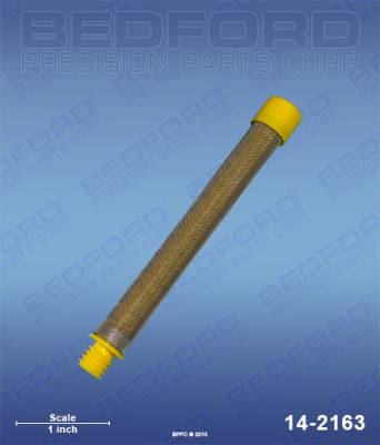 Titan - Impact 400 - Bedford - BEDFORD - GUN FILTER, 100 MESH, YELLOW - 14-2163, REPLACES TSW-540-100