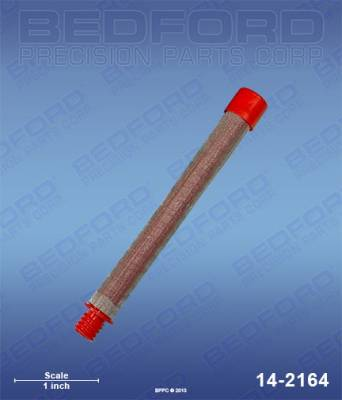 Wagner - Impact 400 - Bedford - BEDFORD - GUN FILTER, 150 MESH, RED - 14-2164, REPLACES TSW-540-150