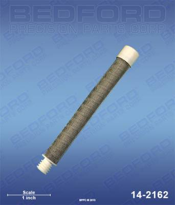 Titan - Impact 400 - Bedford - BEDFORD - GUN FILTER, 60 MESH, WHITE - 14-2162, REPLACES TSW-540-060