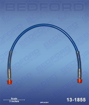 "Graco - Ultra 433 - Bedford - BEDFORD - HOSE ASSY, 29"" - EM490, ULTRA 400/333 - 13-1855, REPLACES GRA-239984"