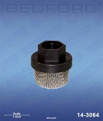 "Airlessco - ProSpray 606 - Bedford - BEDFORD - INLET FILTER, 3/4""-16 UNF(F) - 14-3064, REPLACES GRA-187651"