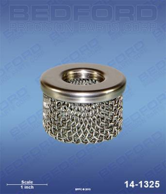 "Amspray - MAB Cheetah - Bedford - BEDFORD - INLET STRAINER (COARSE), 3/4"" NPT THREAD - 14-1325, REPLACES TSW-02975"