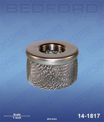 "Airlessco - Power Pup 4 - Bedford - BEDFORD - INLET STRAINER, 3/4"" NPT THREAD - 14-1817"