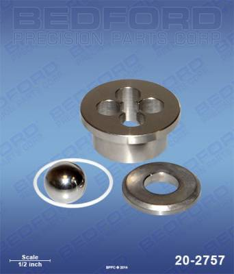 Graco - 190 ES (stPro-style) - Bedford - BEDFORD - INTAKE SEAT KIT - 395/495 STPRO, ULTRA 695 - 20-2757, REPLACES GRA-246429