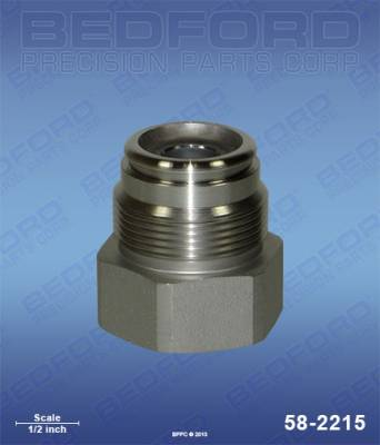 Graco - Nova SP - Bedford - BEDFORD - INTAKE VALVE - 390ST, 490ST, ULTRA 600 - 58-2215, REPLACES GRA-224966
