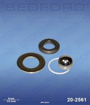 Graco - Ultra 695 - Bedford - BEDFORD - INTAKE VALVE - 395/455/495STPRO, UMAX 695 - 20-2561, REPLACES GRA-243190