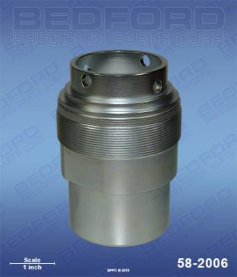 Graco - 45:1 King (HydraCat) - Bedford - BEDFORD - INTAKE VALVE - 45:1 KING, GH733, 20:1 BULL - 58-2006, REPLACES GRA-207473