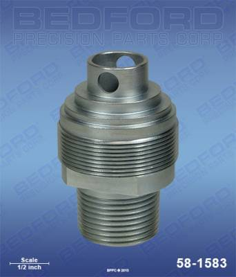 Graco - Viscount I 3000 - Bedford - BEDFORD - INTAKE VALVE - EH433GT, GH433, 30:1 PRES - 58-1583, REPLACES GRA-205981