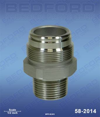 Graco - Ultra 433 - Bedford - BEDFORD - INTAKE VALVE - GM3500, EM590 - 58-2014, REPLACES GRA-222437