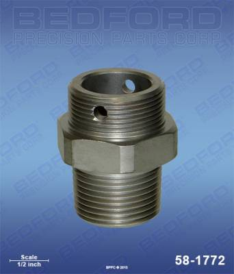 Graco - Ultra 433 - Bedford - BEDFORD - INTAKE VALVE - ULTRA 333/433/750/1000 - 58-1772, REPLACES GRA-217574