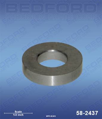 Wagner - SW623 (EPX-style) - Bedford - BEDFORD - INTAKE VALVE SEAT - 58-2437, REPLACES TSW-0551534