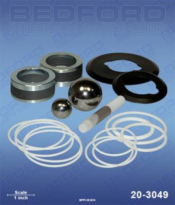 Graco - Xtreme 180cc (750) - Bedford - BEDFORD - KIT - 180CC XTREME 750 TUFF-TYPE STACK - 20-3049, REPLACES GRA-24F970