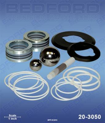 Graco - Xtreme 180cc (750) - Bedford - BEDFORD - KIT - 180CC XTREME 750 X-TUFF-TYPE STACK - 20-3050, REPLACES GRA-262792
