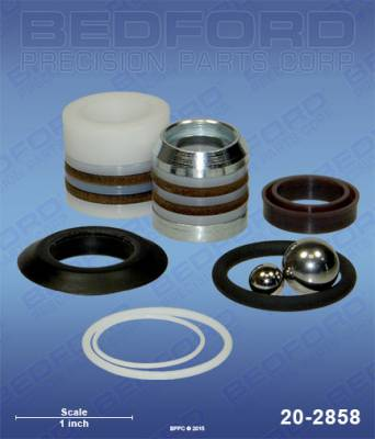Graco - 190 ES (stPro-style) - Bedford - BEDFORD - KIT - 190ES, 190LTS, 210ES, 210LTS - 20-2858, REPLACES GRA-255204
