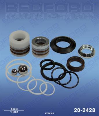 Graco - Ultra Max II 595 - Bedford - BEDFORD - KIT - 295ST, 390, 395/495ST PRO, ULT 395/495 - 20-2428, REPLACES GRA-244194