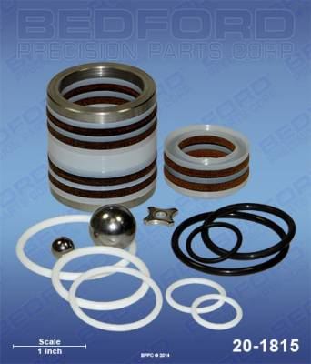 Airlessco - Series 10 - Bedford - BEDFORD - KIT - 3600, 4100, 5100, 5300, 6100 PUMPS - 20-1815