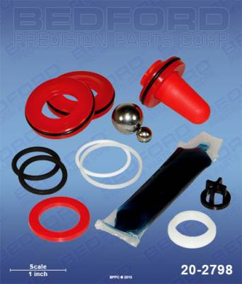 Wagner - SW623 (EPX-style) - Bedford - BEDFORD - KIT - EPX2155, EPX2255, SW419, RENTSPRAY 400 - 20-2798, REPLACES TSW-0551533