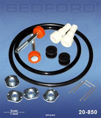 Graco - 10:1 Monark - Bedford - BEDFORD - KIT - FIREBALL & MONARK AIR MOTOR - 20-850, REPLACES GRA-206728