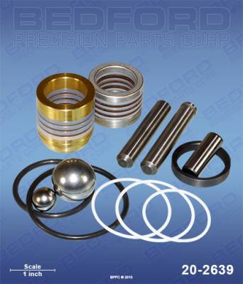 Graco - GMx 7900 - Bedford - BEDFORD - KIT - GH200, GMAX 7900, HYDRAMAX 225 - 20-2639, REPLACES GRA-246341