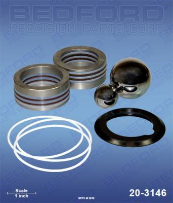 Graco - GH 833 - Bedford - BEDFORD - KIT - GH833 - 20-3146, REPLACES GRA-287835