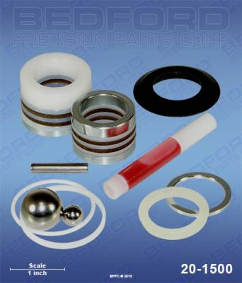 Graco - GM 3012 - Bedford - BEDFORD - KIT - GM5000, ULTRA 1500, GM10000 - 20-1500, REPLACES GRA-220877