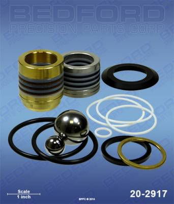 Graco - GMax II 7900 - Bedford - BEDFORD - KIT - GMAX II 7900, ULTRAMAX II 1895, MARK X - 20-2917, REPLACES GRA-249123