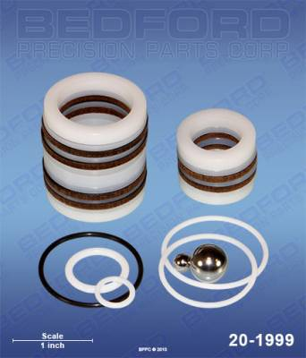 Airlessco - ProSpray 505 - Bedford - BEDFORD - KIT - LITTLE PRO, POWER PUP, 2400, 2500, 2600 - 20-1999, REPLACES GRA-331210