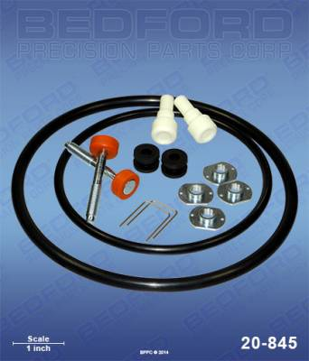 Graco - 3:1 President High-Flo - Bedford - BEDFORD - KIT - PRESIDENT AIR MOTOR - 20-845, REPLACES GRA-207385