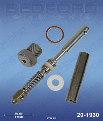 Graco - EuroLiner Trassar 8 - Bedford - BEDFORD - KIT - SILVER/FLEX GUN PLUS - 20-1930, REPLACES GRA-235474