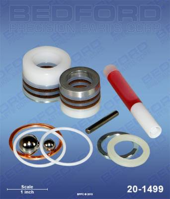 Graco - Ultra Plus+ 750 - Bedford - BEDFORD - KIT - ULTRA 333/433/1000, GM3500, EM590 - 20-1499, REPLACES GRA-222588