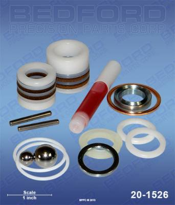 Graco - Fuller OBrien Pro 301 - Bedford - BEDFORD - KIT - ULTRA 400/500, EM380/390/490 - 20-1526, REPLACES GRA-222587
