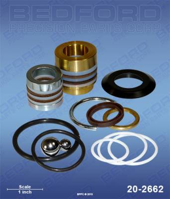 Graco - Ultra Max 1095 - Bedford - BEDFORD - KIT - ULTRAMAX II 695/795, GMAX II 3900 - 20-2662, REPLACES GRA-248212