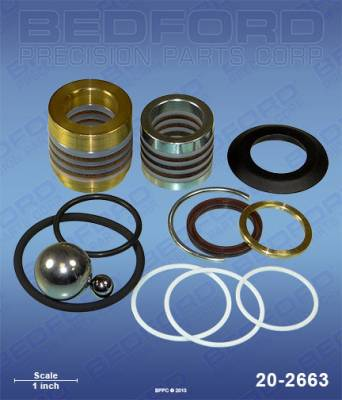 Graco - GM 3012 - Bedford - BEDFORD - KIT - UMAX II 1095/1595, GMAX II 5900/10000 - 20-2663, REPLACES GRA-248213
