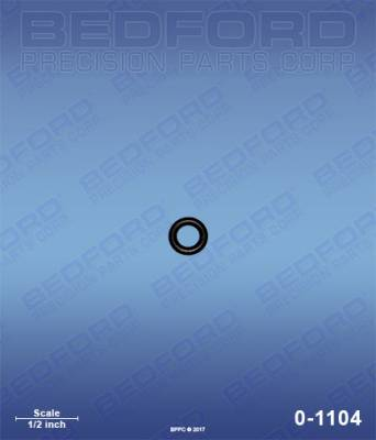 Graco - GMx 7900 - Bedford - BEDFORD - O-RING - 0-1104, REPLACES GRA-168110