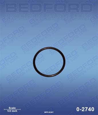 Graco - 190 Classic - Bedford - BEDFORD - O-RING - 0-2740, REPLACES GRA-117559